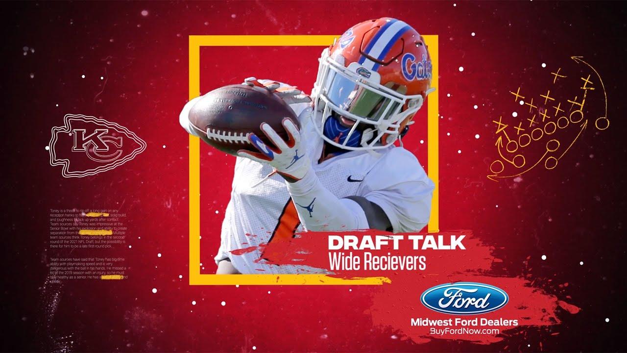 Wide Receiver Draft Prospect Highlights | Draft Talk 2021