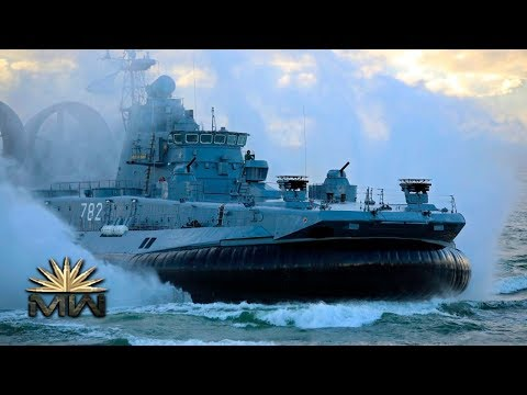 Zubr-class LCAC - World's Largest Hovercraft - Russian Navy [Review]