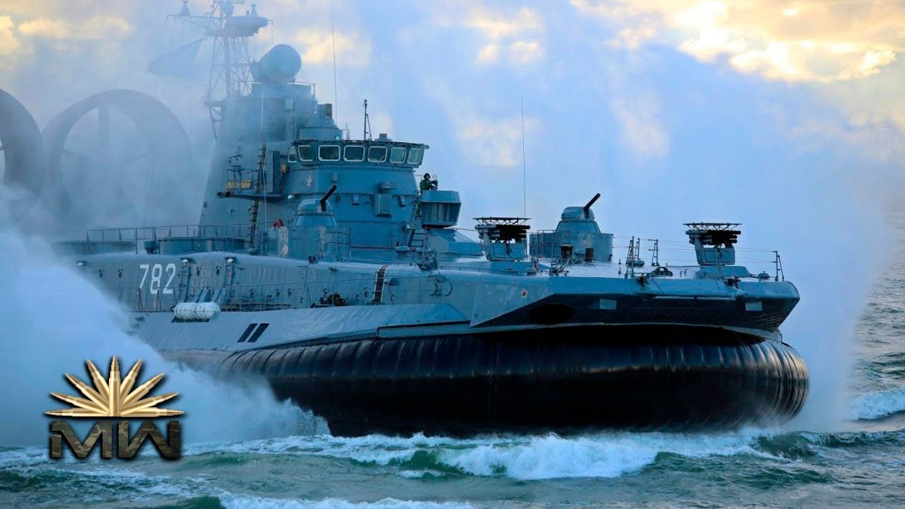 Russian Project 1232.2 Zubr Class LACA (Plastic model)