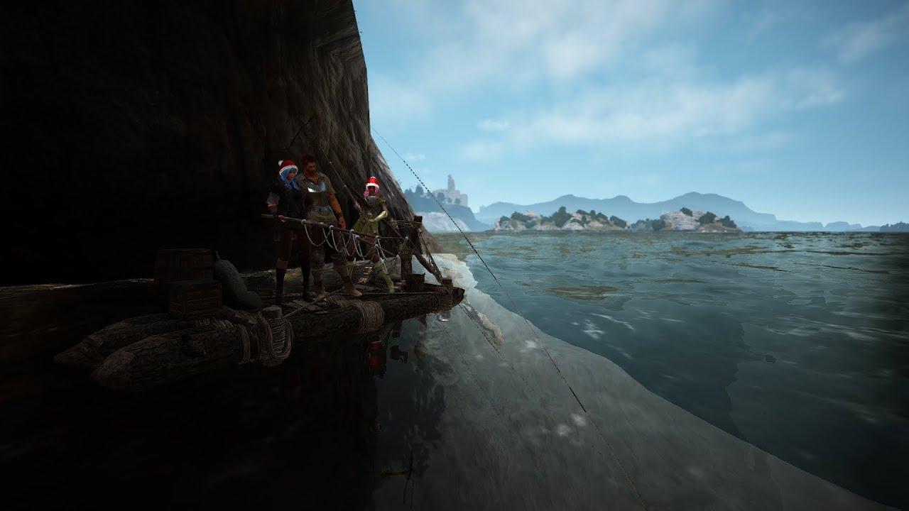 Black desert online obt exploring islands and fishing for Desert island fishing