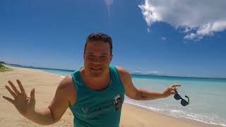 Antigua Wonderful Beach Travel Vlog