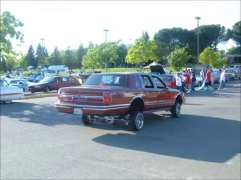 90 97 Lincoln Towncar Lowriders Youtube