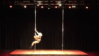 2018 US Pole Dance Championship Professional Division - Jenna