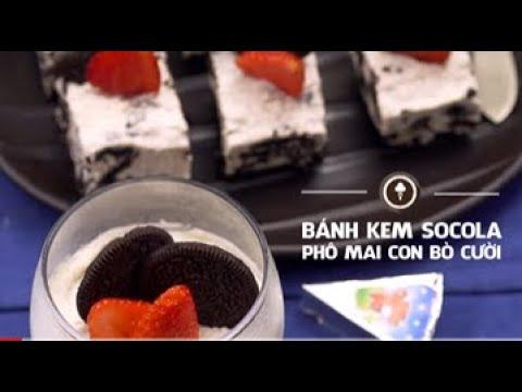 Nấu ăn cùng Con Bò Cười - Bánh kem sôcôla phô mai