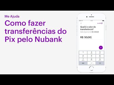 Como fazer transferências via Pix no Nubank | Me Ajuda