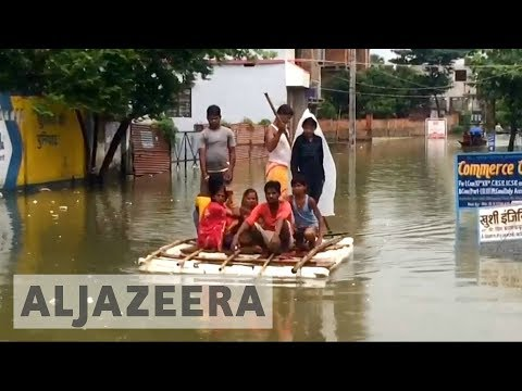 South Asia floods: India counts cost of severe monsoon season