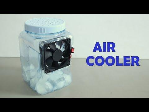 Diy Air Conditioner Cool Blue Lit Ac Air Cooler