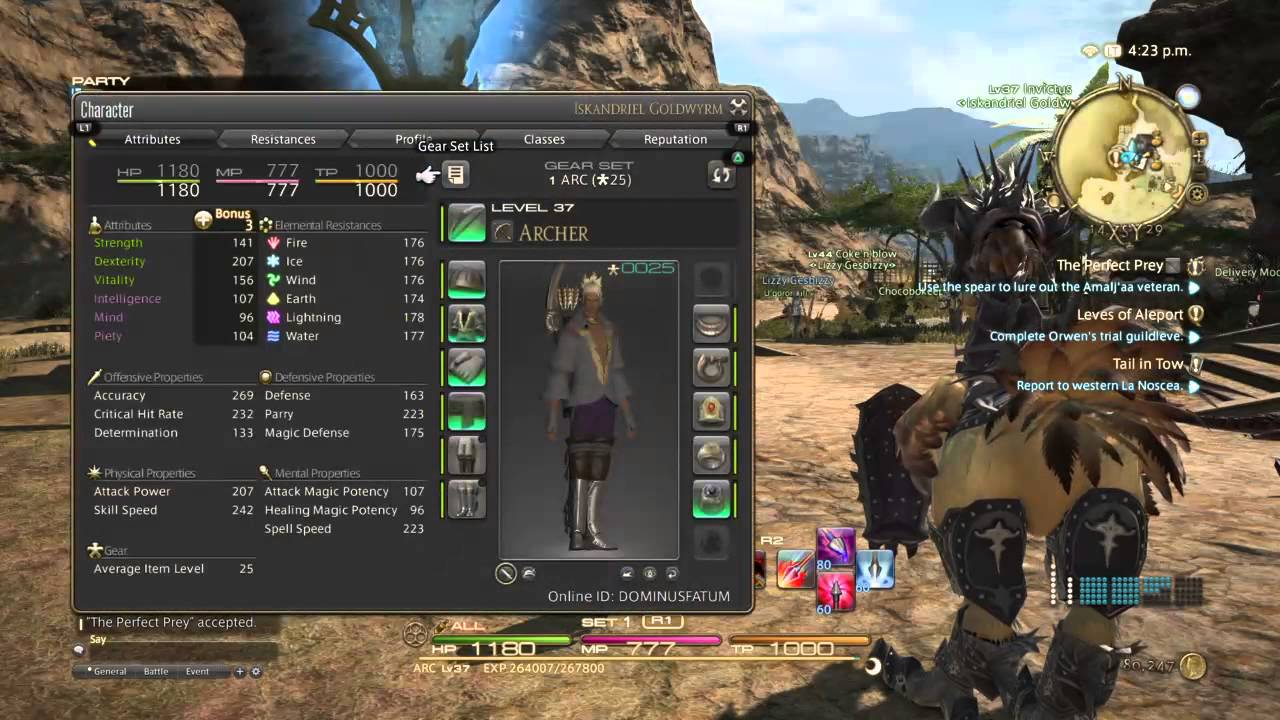 Final fantasy XIV - Main quest line - YouTube