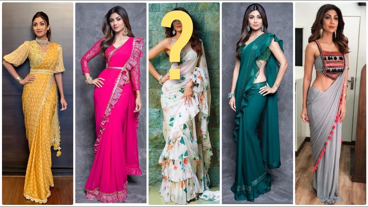 Latest Shilpa Shetty Saree Collection Shilpa Shetty Saree Blouse Designs Youtube Shilpa shetty has done which no one even thought of. latest shilpa shetty saree collection shilpa shetty saree blouse designs