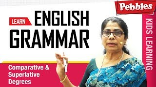 Learn English Grammar   Formation of Degrees in irregular manner   Comparative & Superlative Degrees