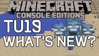 Minecraft: TU19 ALL New Features! FULL CHANGELOG! (Xbox 360/Xbox One)