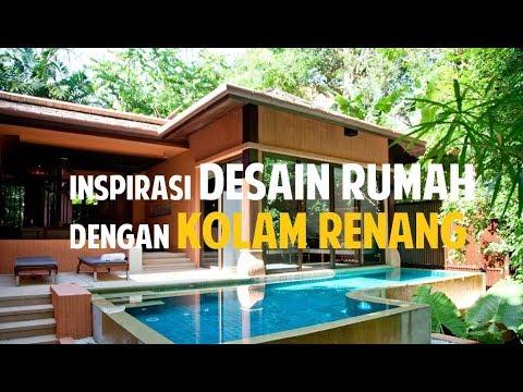 desain rumah dengan kolam renang   desain rumah minimalis