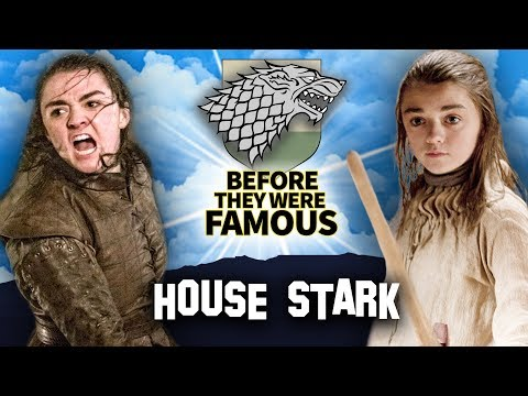 Game Of Thrones House Stark | Before They Were Famous Sophie Turner, Kit Harrington, Maisie Williams