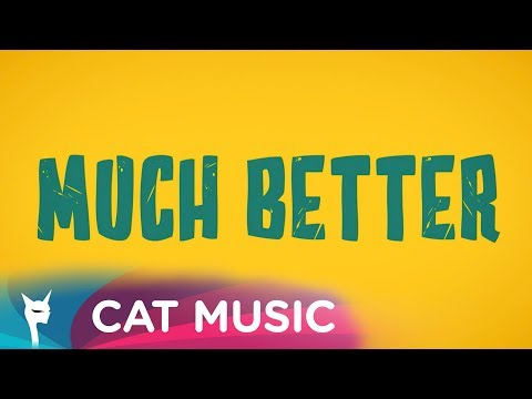 Much Better (Official Lyric Video) - Super Monkeys feat. Ioana Ignat