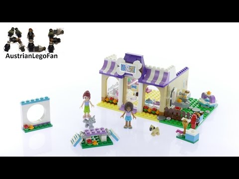 Lego Friends 41124 Heartlake Puppy Daycare - Lego Speed Build Review