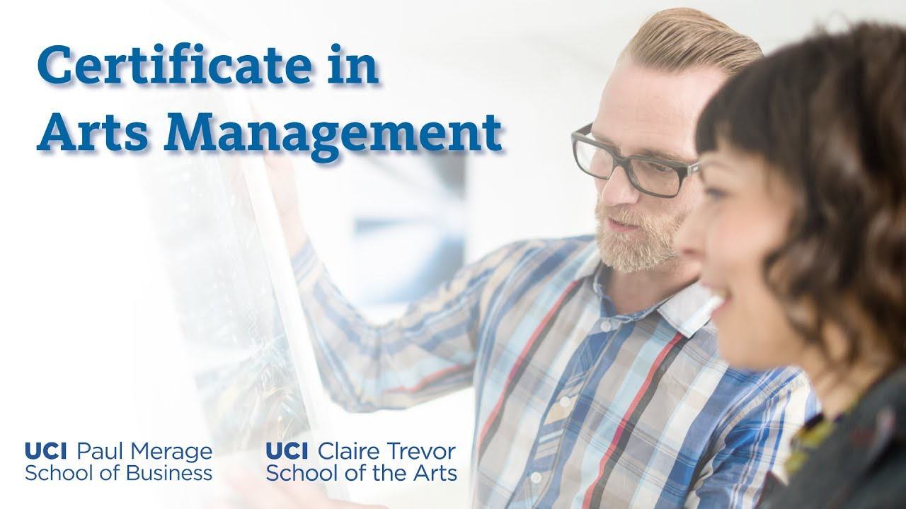 Certificate In Arts Management Executive Education