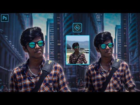 Photoshop Manipulation Tutorial || How To Change Background || Easy || Aashif Creation thumbnail