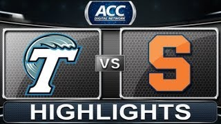 2013 ACC Football Highlights | Tulane vs Syracuse | ACCDigitalNetwork