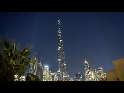 Dubai Downtown view during New year & Christmas 2020