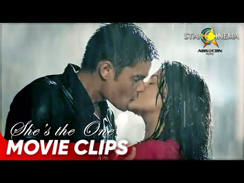 So romantic! Wacky and Cat kiss in the rain! - She's The One - #StarCinema25 - 동영상