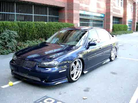 Chevy Malibu  Air Ride FBSS Fastbags (Air Bags) Bagged