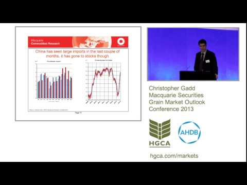 Macquarie's Outlook for Oilseeds 2013: Chris Gadd