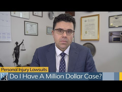 New York Personal Injury Attorney Answers FAQs: What Lawsuits Are Worth Over One Million Dollars ?