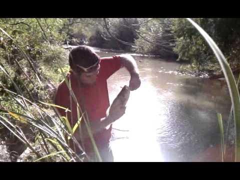 Santa Ana River fishing