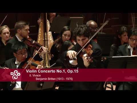 Augustin Hadelich - Britten Violin Concerto, Jukka-Pekka Saraste, Detroit Symphony LIVE
