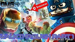 LEGO  MARVEL's Avengers Gameplay Walkthrough part 1