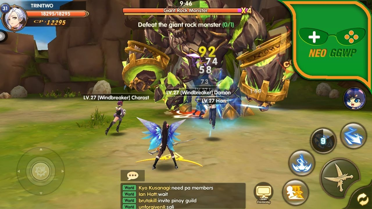 Wings of Glory (Android iOS APK) – MMORPG Gameplay, Shadow killer, Lv.1-41 (CBT)  #Smartphone #Android