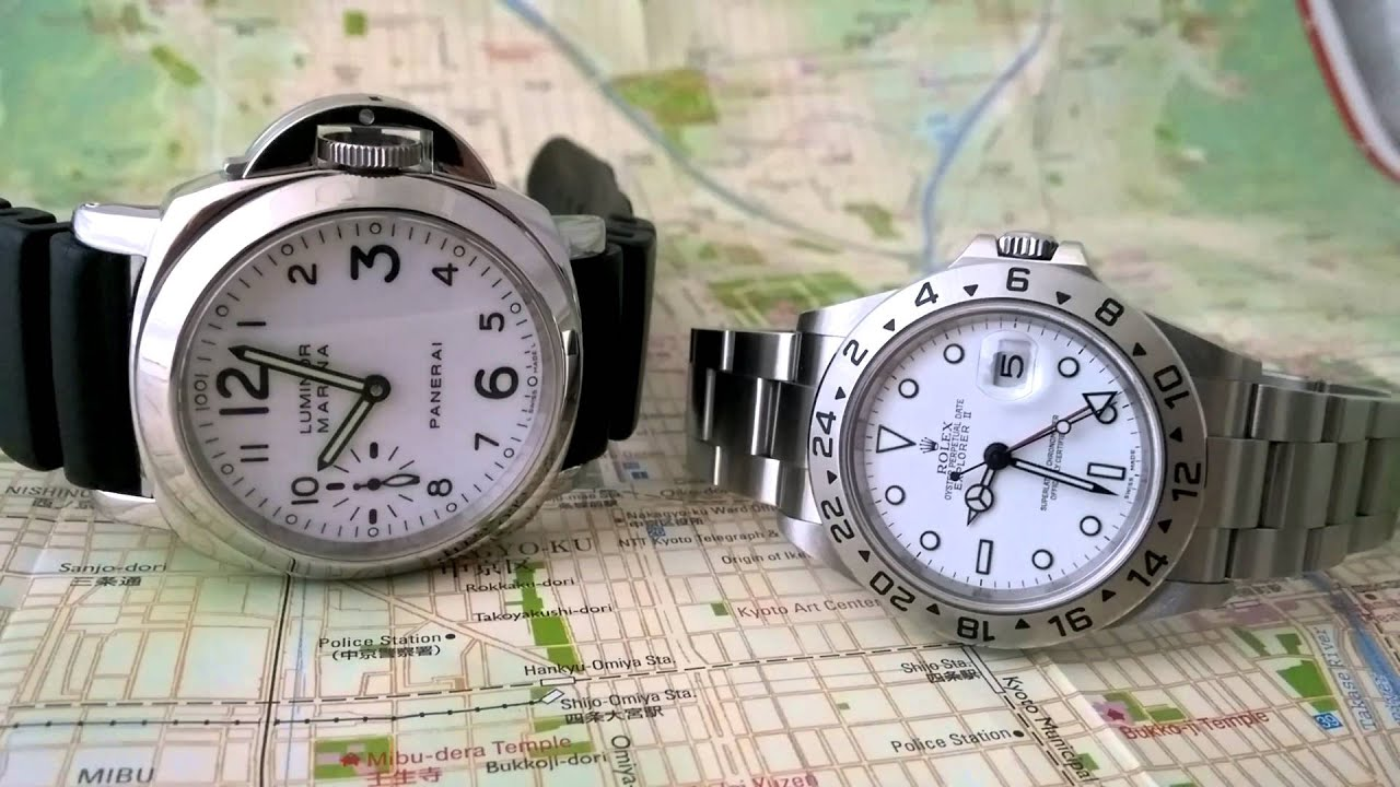 Why White Watches Always Go