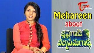 Mehareen Talks About Krishna Gaadi Veera Prema Gaadha