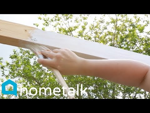 DIY Pergola | Build A Gorgeous Backyard Pergola In Just 1 Day! | Hometalk
