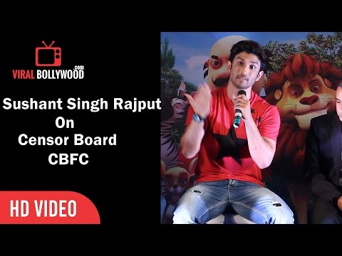 Sushant Singh On Central Board of Film Certification In India | Viralbollywood
