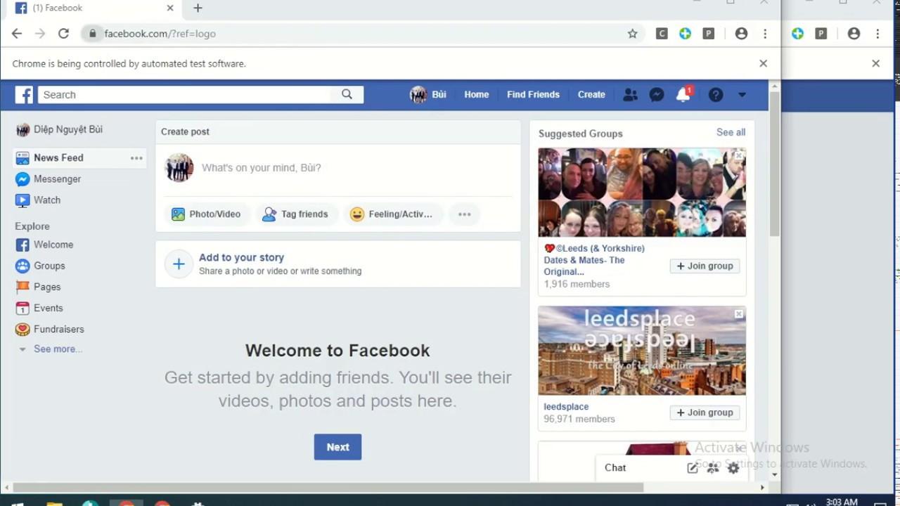 Bán Acc Facebook – Hướng dẫn nuôi nick trắng