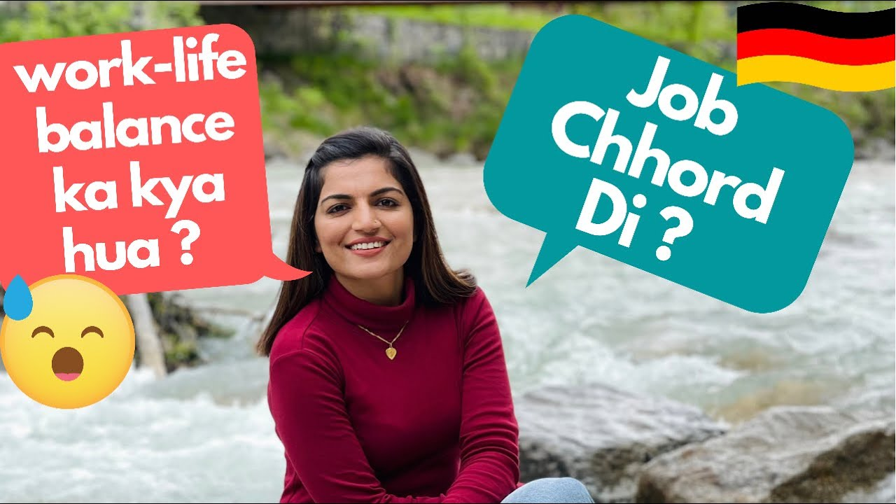 Germany Me Shilpa Ne Job Chhord Di Kya YouTube Ke Liye ?   Indian Vlogger in Germany   Flying Abroad