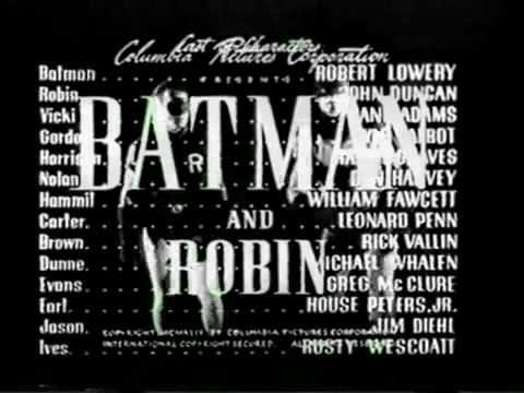 Batman and Robin - serial 1949