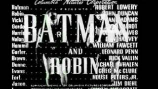 Batman and Robin - serial 1949