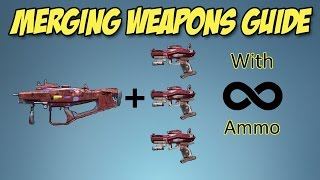 Borderlands 2: How to merge weapons and infinite ammo (Patched) Xbox One