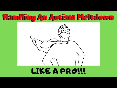 How To Handle An Autism Meltdown