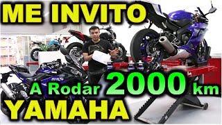 YAMAHA ME INVITO A RODAR 2000 KILOMETROS |BLITZ RIDER