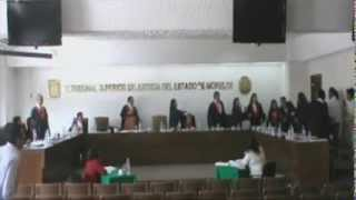 Mexican Judges Fight During Court Case