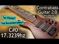 """Brice 37"""" Scale """"Earthquake"""" Bass Review (Contrabass Guitar 2.0 Build)"""