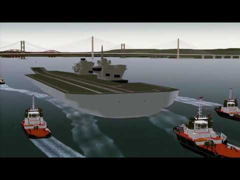HMS Queen Elizabeth Departure Evolution