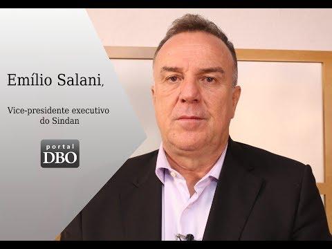 Vacina não deve ser vista como problema, diz Emílio Salani, do Sindan