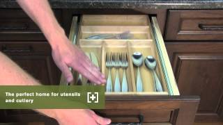 Schuler Cabinetry: Three Drawer Base With Cutlery Divider, Kitchen Storage Part 2