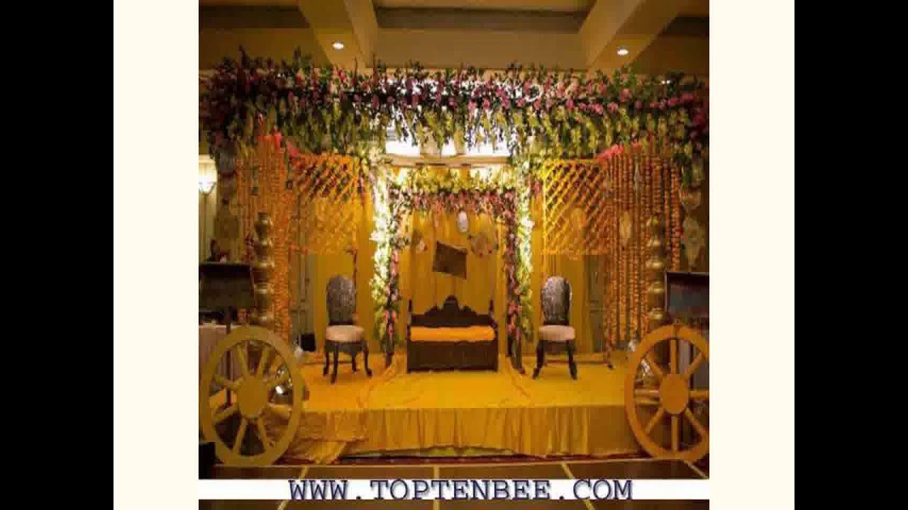 New Wedding Decoration Flowers Youtube