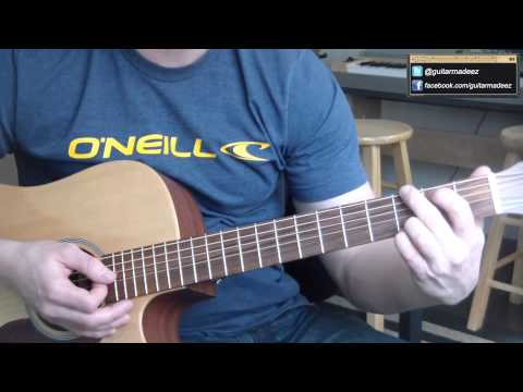 James - Laid - Guitar Tutorial (The American Pie Theme Song)