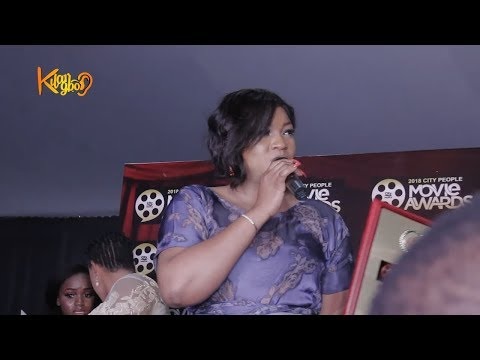 Omotola jalade Wins City People Icon Movie Of The Year As Wumi Toriola Won Fastest Rising Actress